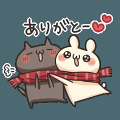 うさぎのしろとねこのくろ ぱーと10冬!!