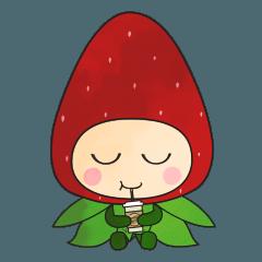 [かわいいイチゴ]ラブリーベリー (No text)