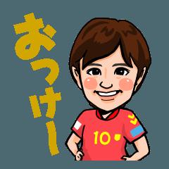 INAC神戸レオネッサ公式2019スタンプ
