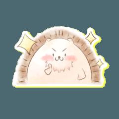 まん丸ハリネズミ/2匹のもっちりハムスター