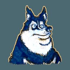 吉田の動物スタンプ