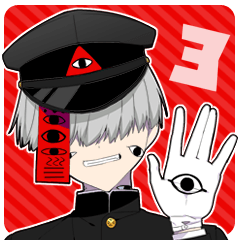 [LINEスタンプ] -闇男子3-