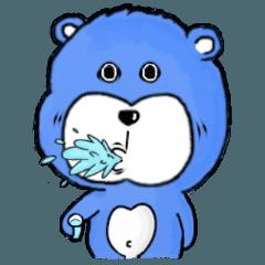 青い熊君 V2