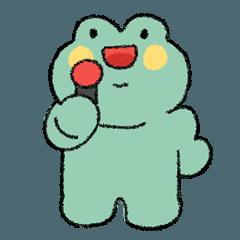 悲しいけど歌う蛙