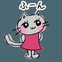 気まぐれ猫のみー子さん