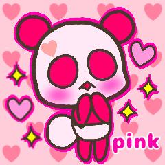 カラフルはーとパンダ〜ピンク編〜
