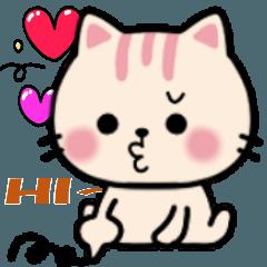 おしゃ癒し❤大人可愛い猫ネクニャスタンプ