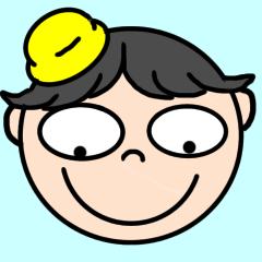 [LINEスタンプ] まんまるお顔の絵文字