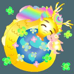 [LINEスタンプ] にこにこドラゴン~笑龍~2