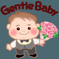 [LINEスタンプ] Gentle Baby