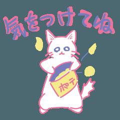災害・防災時に使える気遣い猫スタンプ