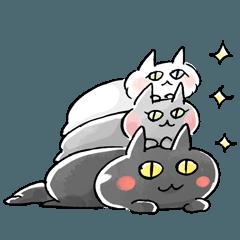-Les Trois Chats(レトロワシャ)- 3匹の猫