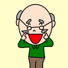 [LINEスタンプ] 優しいおじいちゃんの日常会話