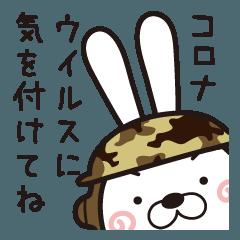 新型コロナウイルス作戦・聞き耳ウサギ隊
