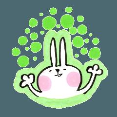 ひかえめウサギ2