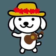 ウクレレ犬