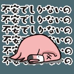 心配性のフラミンゴ
