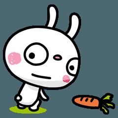 ふんわかウサギ ポップタッチ風5