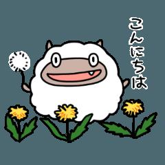 [LINEスタンプ] 羊皮オオカミ3 春