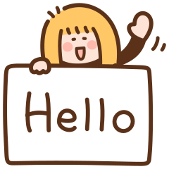 カンペ女子の英語