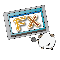 [LINEスタンプ] FX投資犬