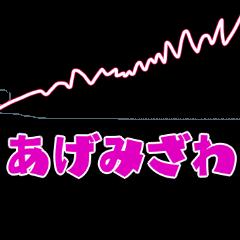 [LINEスタンプ] 便利にずっと使えるスランプグラフスタンプ