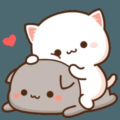 もちもち動く猫ちゃん(JPN)