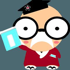 熱海市立図書館キャラクター「坪さん」