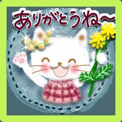 春と初夏♡大人女子の癒しスタンプ(挨拶)