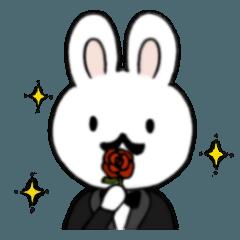 ヒゲ?ウサギ