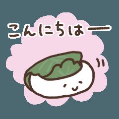 ほんわか和菓子〜ゆる敬語〜